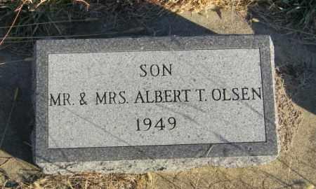 OLSEN, ALBERT - Lincoln County, South Dakota   ALBERT OLSEN - South Dakota Gravestone Photos