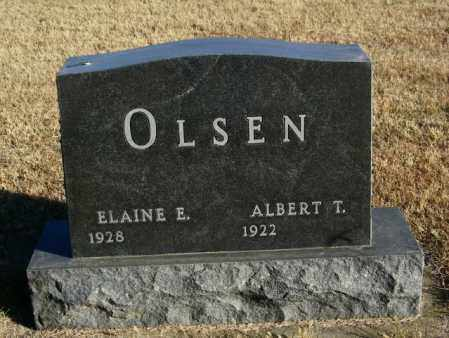 OLSEN, ALBERT T - Lincoln County, South Dakota | ALBERT T OLSEN - South Dakota Gravestone Photos