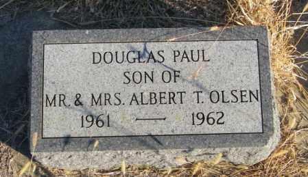 OLSEN, DOUGLAS PAUL - Lincoln County, South Dakota   DOUGLAS PAUL OLSEN - South Dakota Gravestone Photos