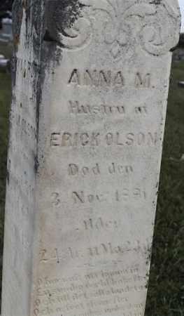 OLSON, ANNA M - Lincoln County, South Dakota | ANNA M OLSON - South Dakota Gravestone Photos