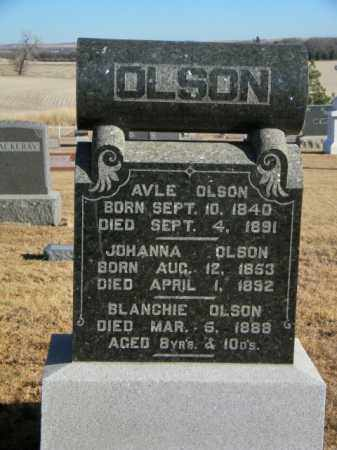 OLSON, BLANCHIE - Lincoln County, South Dakota | BLANCHIE OLSON - South Dakota Gravestone Photos