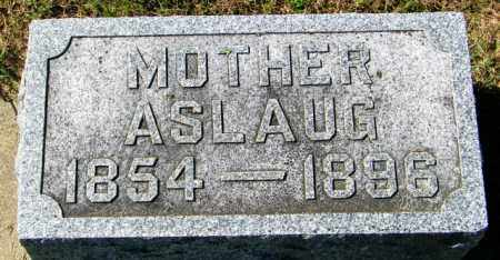 OLSON, ASLAUG - Lincoln County, South Dakota | ASLAUG OLSON - South Dakota Gravestone Photos