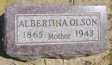 OLSON, ALBERTINA - Lincoln County, South Dakota | ALBERTINA OLSON - South Dakota Gravestone Photos