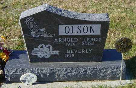"OLSON, ARNOLD ""LEROY"" - Lincoln County, South Dakota 