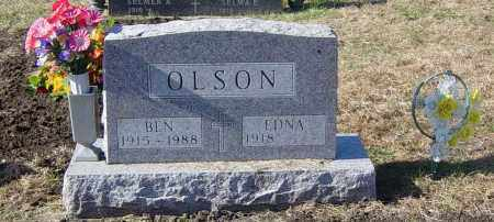 OLSON, BEN - Lincoln County, South Dakota | BEN OLSON - South Dakota Gravestone Photos