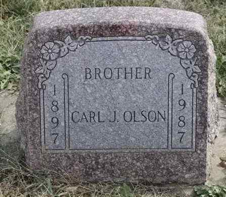 OLSON, CARL J - Lincoln County, South Dakota | CARL J OLSON - South Dakota Gravestone Photos