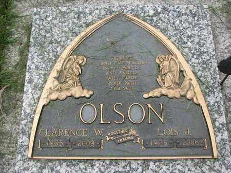 OLSON, CLARENCE W. - Lincoln County, South Dakota | CLARENCE W. OLSON - South Dakota Gravestone Photos