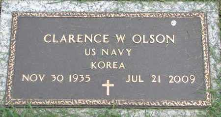 OLSON, CLARENCE W. - Lincoln County, South Dakota | CLARENCE W. OLSON - South Dakota Gravestone Photos