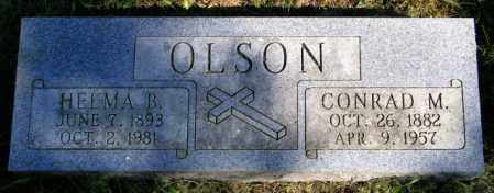 OLSON, HELMA  B. - Lincoln County, South Dakota | HELMA  B. OLSON - South Dakota Gravestone Photos