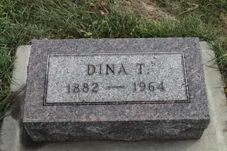 OLSON, DINA T - Lincoln County, South Dakota | DINA T OLSON - South Dakota Gravestone Photos