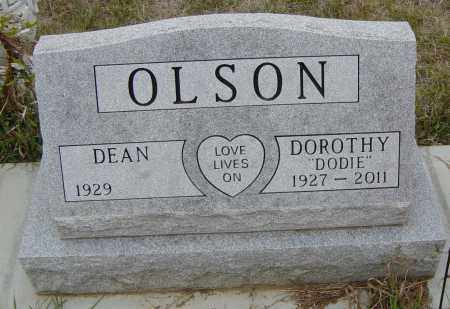 """OLSON, DOROTHY """"DODIE"""" - Lincoln County, South Dakota 