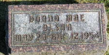 OLSON, DONNA MAE - Lincoln County, South Dakota | DONNA MAE OLSON - South Dakota Gravestone Photos