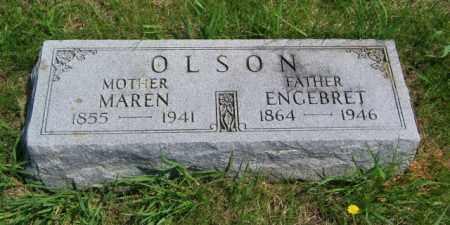 OLSON, MAREN - Lincoln County, South Dakota | MAREN OLSON - South Dakota Gravestone Photos