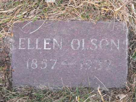 OLSON, ELLEN - Lincoln County, South Dakota | ELLEN OLSON - South Dakota Gravestone Photos