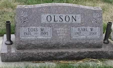 OLSON, LOIS M - Lincoln County, South Dakota | LOIS M OLSON - South Dakota Gravestone Photos