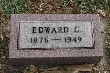 OLSON, EDWARD C - Lincoln County, South Dakota   EDWARD C OLSON - South Dakota Gravestone Photos