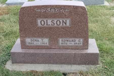 OLSON, EDWARD C - Lincoln County, South Dakota | EDWARD C OLSON - South Dakota Gravestone Photos