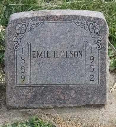 OLSON, EMIL H - Lincoln County, South Dakota | EMIL H OLSON - South Dakota Gravestone Photos