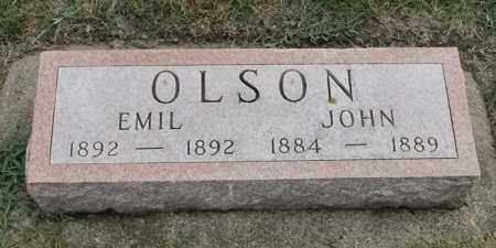 OLSON, JOHN - Lincoln County, South Dakota | JOHN OLSON - South Dakota Gravestone Photos