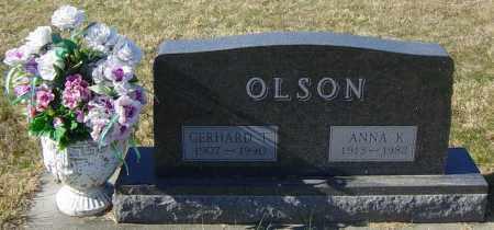 OLSON, GERHARD T - Lincoln County, South Dakota | GERHARD T OLSON - South Dakota Gravestone Photos