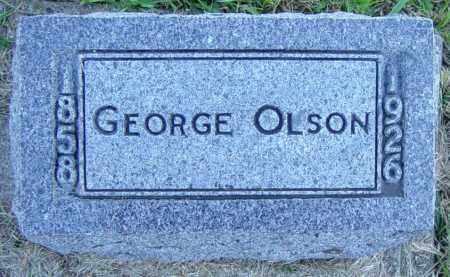 OLSON, GEORGE - Lincoln County, South Dakota   GEORGE OLSON - South Dakota Gravestone Photos