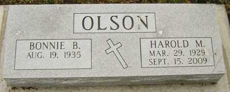 OLSON, BONNIE B - Lincoln County, South Dakota | BONNIE B OLSON - South Dakota Gravestone Photos