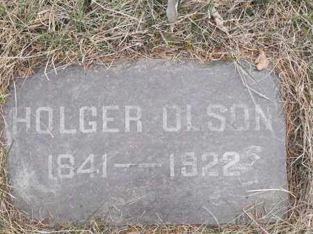 OLSON, HOLGER - Lincoln County, South Dakota | HOLGER OLSON - South Dakota Gravestone Photos