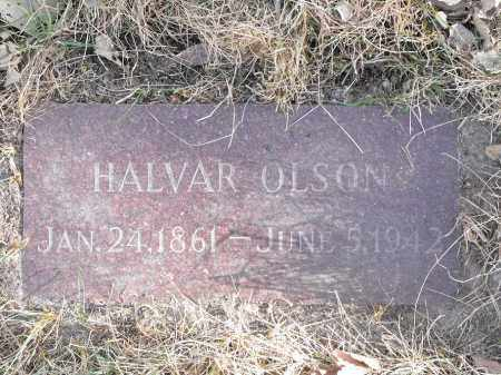 OLSON, HALVAR - Lincoln County, South Dakota | HALVAR OLSON - South Dakota Gravestone Photos