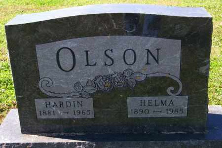 OLSON, HELMA - Lincoln County, South Dakota | HELMA OLSON - South Dakota Gravestone Photos