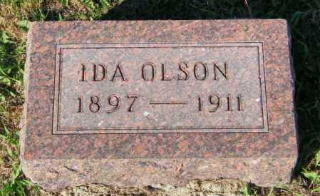 OLSON, IDA - Lincoln County, South Dakota | IDA OLSON - South Dakota Gravestone Photos