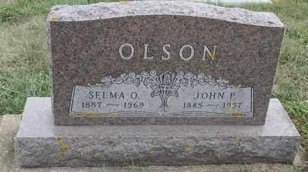 OLSON, SELMA O - Lincoln County, South Dakota | SELMA O OLSON - South Dakota Gravestone Photos