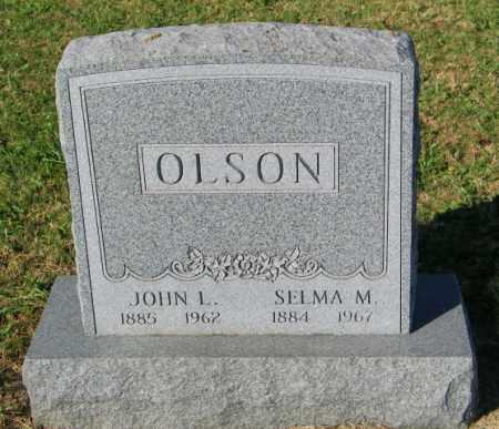 OLSON, SELMA M. - Lincoln County, South Dakota   SELMA M. OLSON - South Dakota Gravestone Photos