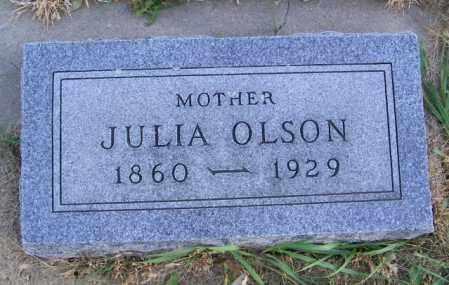OLSON, JULIA - Lincoln County, South Dakota | JULIA OLSON - South Dakota Gravestone Photos