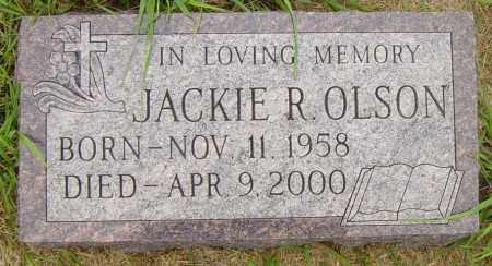 OLSON, JACKIE R - Lincoln County, South Dakota | JACKIE R OLSON - South Dakota Gravestone Photos