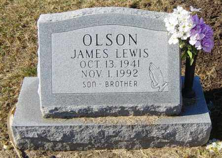 OLSON, JAMES LEWIS - Lincoln County, South Dakota   JAMES LEWIS OLSON - South Dakota Gravestone Photos