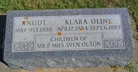 OLSON, KLARA OLINE - Lincoln County, South Dakota | KLARA OLINE OLSON - South Dakota Gravestone Photos