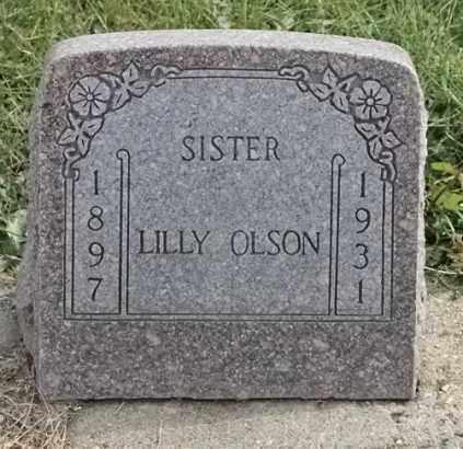 OLSON, LILLY - Lincoln County, South Dakota | LILLY OLSON - South Dakota Gravestone Photos