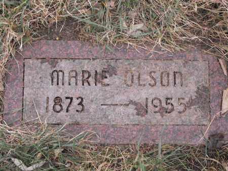 OLSON, MARIE - Lincoln County, South Dakota | MARIE OLSON - South Dakota Gravestone Photos