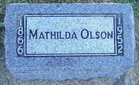 OLSON, MATHILDA - Lincoln County, South Dakota | MATHILDA OLSON - South Dakota Gravestone Photos