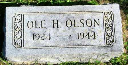 OLSON, OLE H. - Lincoln County, South Dakota | OLE H. OLSON - South Dakota Gravestone Photos