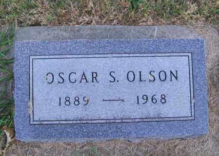 OLSON, OSCAR S. - Lincoln County, South Dakota   OSCAR S. OLSON - South Dakota Gravestone Photos
