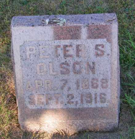 OLSON, PETER S - Lincoln County, South Dakota | PETER S OLSON - South Dakota Gravestone Photos