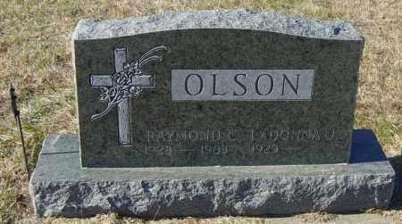 OLSON, RAYMOND L - Lincoln County, South Dakota | RAYMOND L OLSON - South Dakota Gravestone Photos