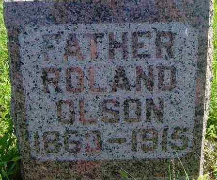 OLSON, ROLAND - Lincoln County, South Dakota | ROLAND OLSON - South Dakota Gravestone Photos