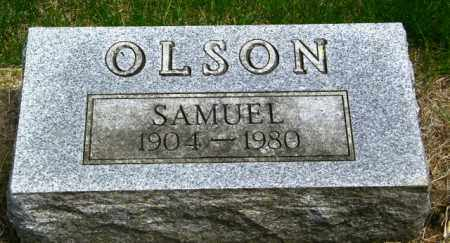 OLSON, SAMUEL - Lincoln County, South Dakota | SAMUEL OLSON - South Dakota Gravestone Photos