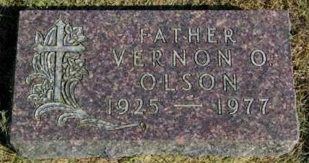 OLSON, VERNON O. - Lincoln County, South Dakota | VERNON O. OLSON - South Dakota Gravestone Photos