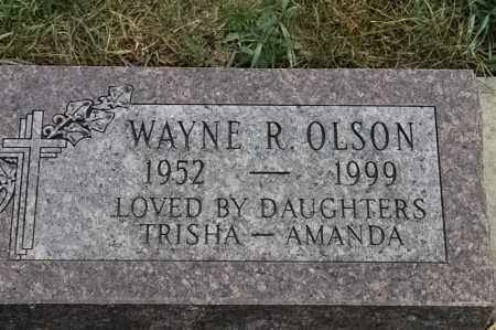 OLSON, WAYNE R - Lincoln County, South Dakota | WAYNE R OLSON - South Dakota Gravestone Photos
