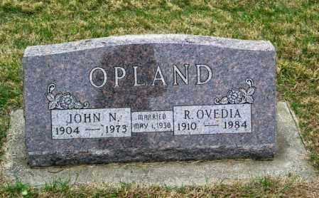 OPLAND, R. OVEDIA - Lincoln County, South Dakota   R. OVEDIA OPLAND - South Dakota Gravestone Photos