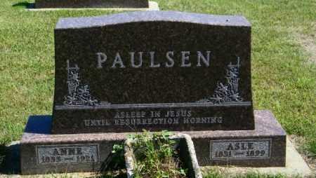 PAULSEN, ASLE - Lincoln County, South Dakota | ASLE PAULSEN - South Dakota Gravestone Photos