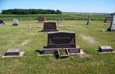 PAULSEN FAMILY PLOT, ASLE - Lincoln County, South Dakota | ASLE PAULSEN FAMILY PLOT - South Dakota Gravestone Photos